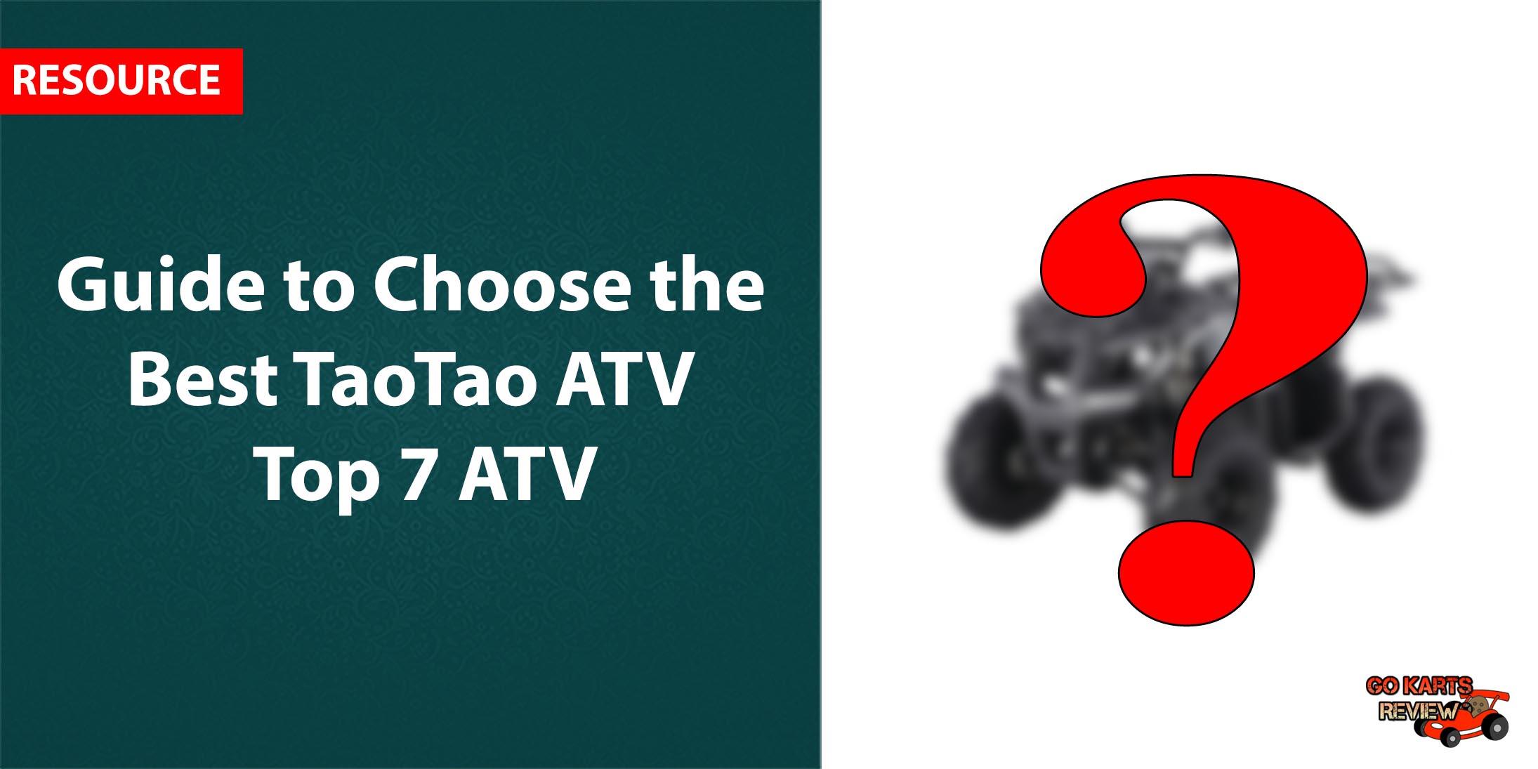 TaoTao ATV