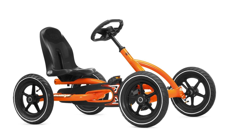 Orange Pedal Go Kart