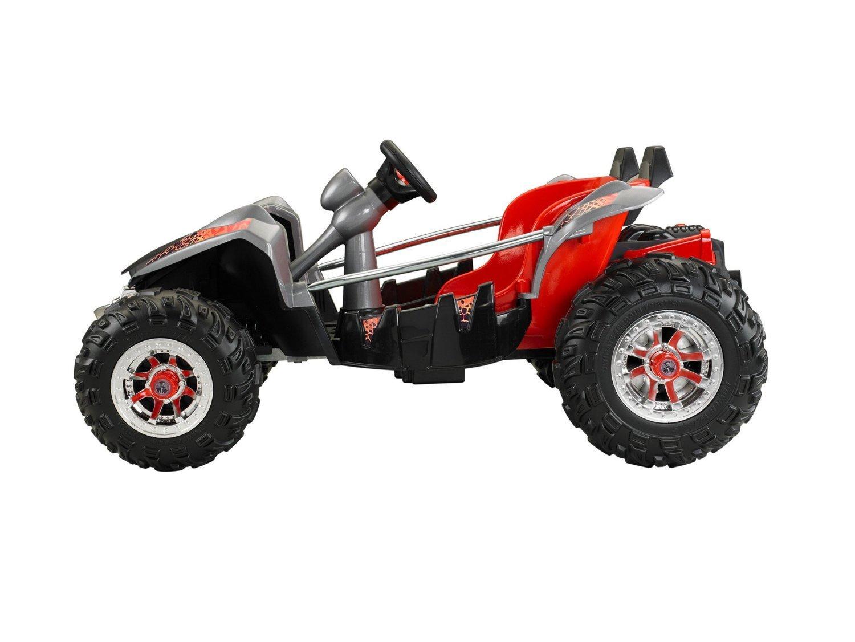 Red Black Lava Wheels Dune Racer